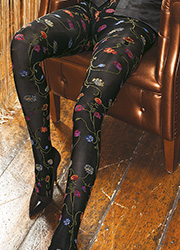 Trasparenze Platino Patterned Tights Zoom 2