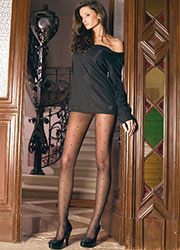 Trasparenze Pois Tights