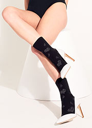 Trasparenze Ray Fashion Ankle Highs