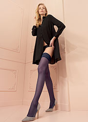 Trasparenze Rosy Lace Top Hold Ups Zoom 3