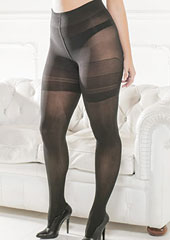 Trasparenze Sibilla Plus Size Tights Zoom 2