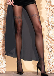 Trasparenze Snowdrop Tights