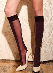 Trasparenze Saffo Knee Highs