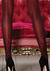 Vixen Brigitte Backseam Tights Zoom 2