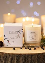 Wildheart Organics Christmas Tree Spa Candle