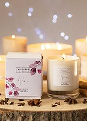 Wildheart Organics Peace Spa Candle