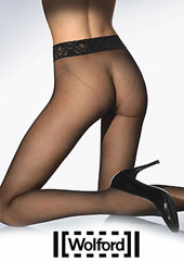 Wolford Fatal Lace 15 Seamless Tights Thumbnail