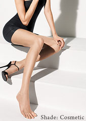 Wolford Luxe 9 Toeless Tights Zoom 4