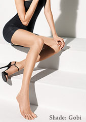 Wolford Luxe 9 Toeless Tights Zoom 3