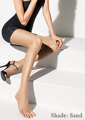 Wolford Luxe 9 Toeless Tights Zoom 2