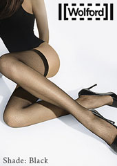 Wolford Twenties Fishnet Hold Ups Zoom 2