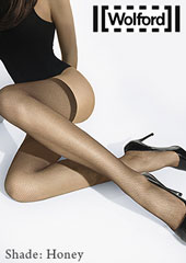 Wolford Twenties Fishnet Hold Ups Zoom 3
