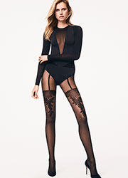 Wolford Allure Fashion Tights Zoom 2