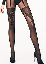 Wolford Allure Fashion Tights Zoom 1