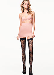 Wolford Blossom Fashion Hold Ups Zoom 2