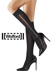 Wolford Claudia Knee Highs