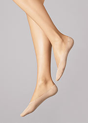 Wolford Cotton Footsies Socks Zoom 1