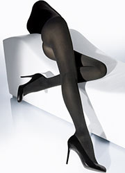 Wolford Cotton Velvet Tights Zoom 1