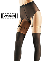 Wolford Daphne Mock Suspender Tights Zoom 2