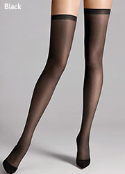 Wolford Fatal 15 Seamless Hold Ups Zoom 2