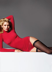 Wolford Fatal 15 Seamless Hold Ups Zoom 3