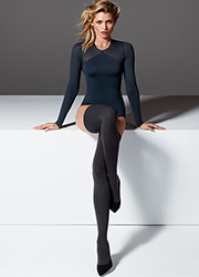 Wolford Fatal 80 Seamless Hold Ups Zoom 3
