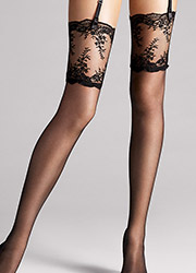 Wolford Filigra Lace Stockings Zoom 2