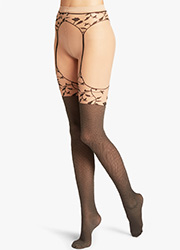 Wolford Flora Fashion Tights Zoom 1
