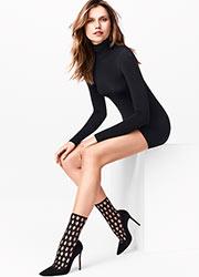 Wolford Gwen Fashion Socks Zoom 2