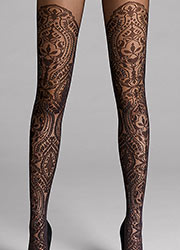 Wolford Henna Sparkle Tights Zoom 2