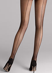 Wolford Individual 10 Backseam Tights Zoom 2