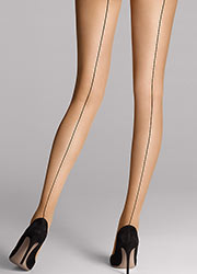 Wolford Individual 10 Backseam Tights Zoom 1