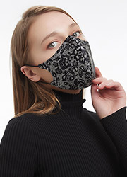 Wolford Lace Silk Face Mask Zoom 3