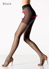 Wolford Luxe 9 Control Top Tights Zoom 3