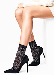 Wolford Matrix Socks Zoom 1