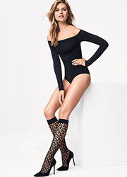 Wolford Net Knee Highs Zoom 3