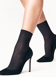 Wolford Rhomb Ankle Highs Zoom 2