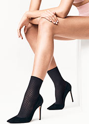 Wolford Rhomb Ankle Highs