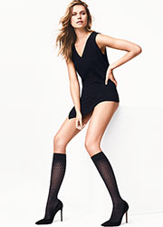 Wolford Rhomb Knee Highs Zoom 3