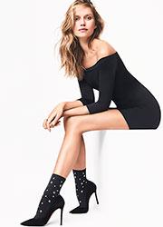 Wolford Rivet Fashion Socks Zoom 2