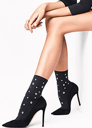 Wolford Rivet Fashion Socks