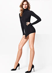 Wolford Sarah Jessica Fashion Knee Highs Zoom 2