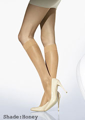 Wolford Satin Touch 20 Knee Highs Zoom 2