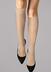 Wolford Satin Touch 20 Knee Highs Zoom 1