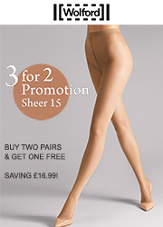 Wolford Sheer 15 Tights 3 For 2 Promotion Zoom 1