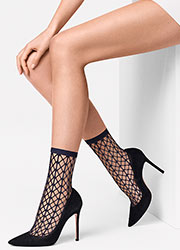 Wolford Tina Fishnet Fashion Socks Zoom 2