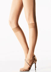 Wolford Transparency 10 Knee Highs