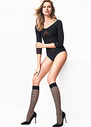 Wolford Triangle Knee Highs Zoom 2