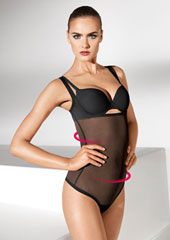 Wolford Tulle Forming String Body Zoom 2