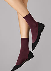 Wolford Velvet 66 Ankle Highs Zoom 2